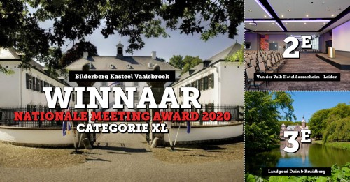 nationale meeting award categorie XL